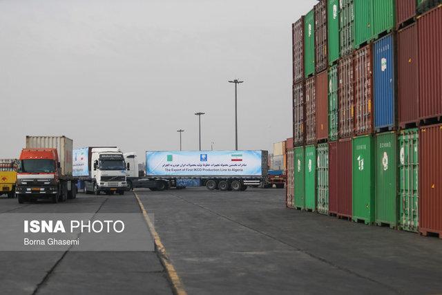 صدور بیش از 1 میلیون و 600 هزار تن کالا از مرز مهران از ابتدای سال جاری