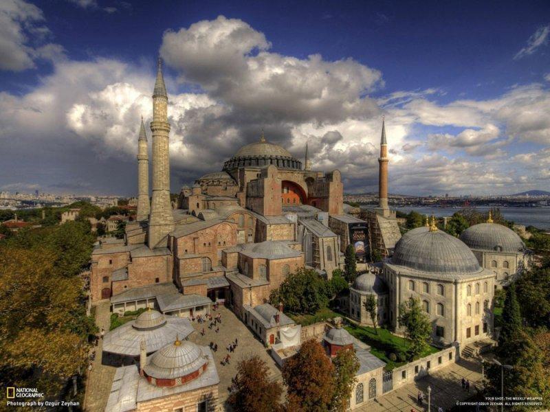 قصر سلطنتی حاجیا صوفیا (Aya Sofya) - ترکیه