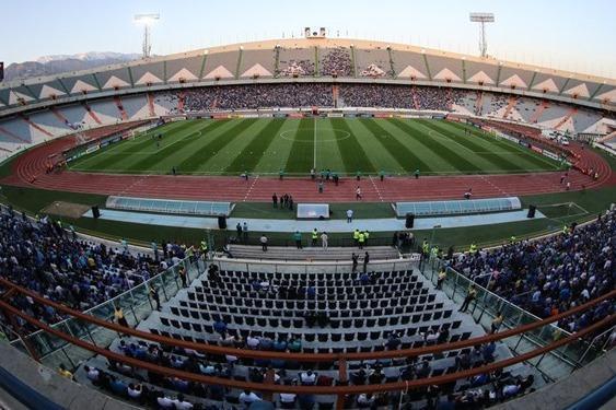 قسمت های مختلف ورزشگاه آزادی ضد عفونی شد