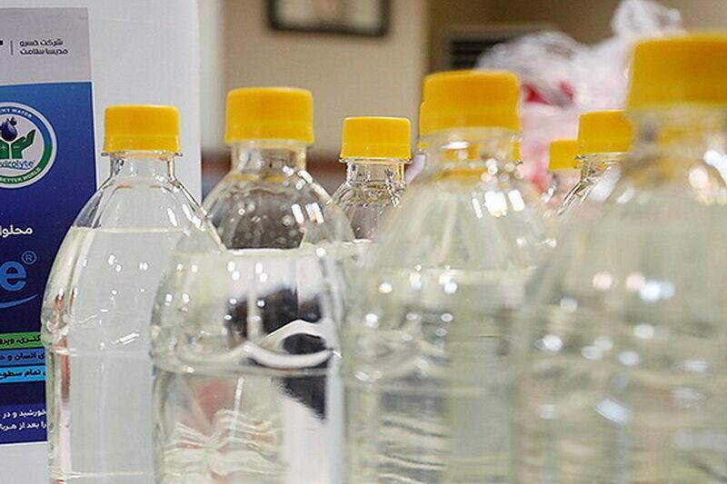 خبرنگاران فراوری الکل در کارخانه کنسانتره شاهرود شروع شد