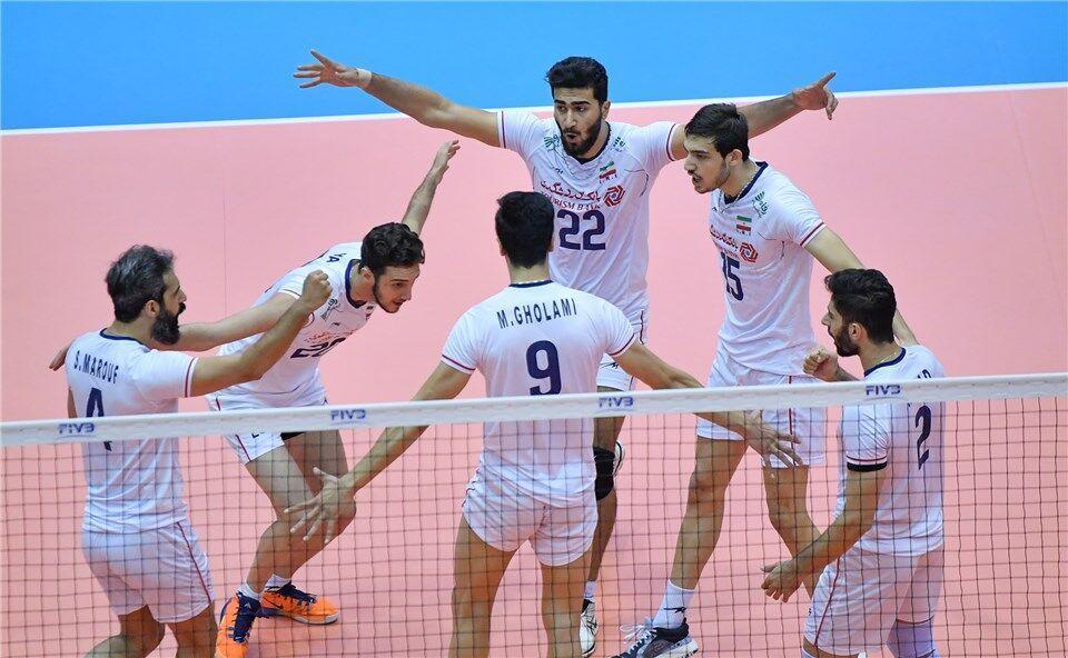 پیروزی والیبال ایران مقابل آرژانتین