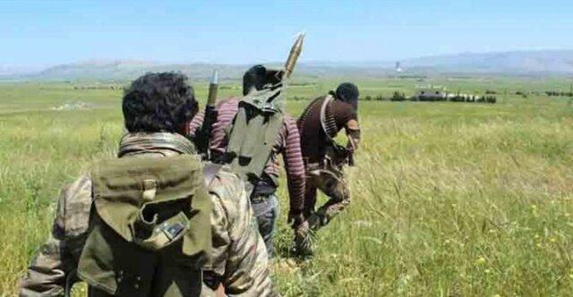دفع حمله گسترده تروریست ها در سوریه توسط ارتش