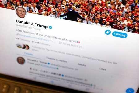 توئیتر محتوای توئیت ترامپ را پنهان اما حذف نکرد