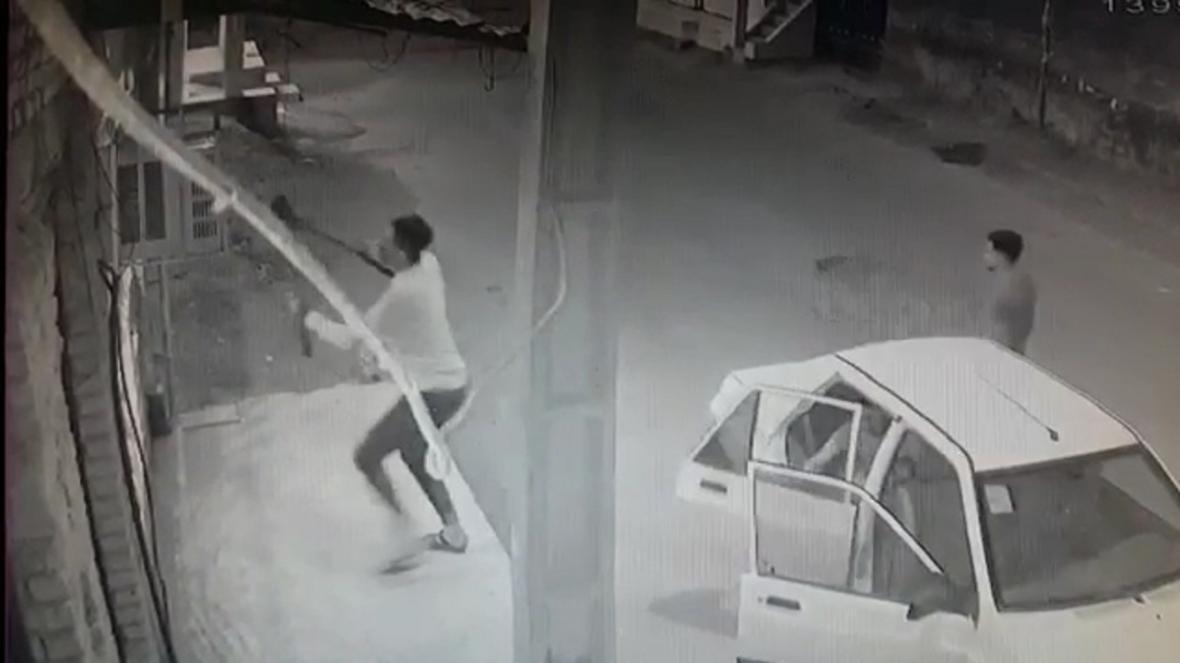 سرقت کندانسور کولر گازی در خرمشهر!