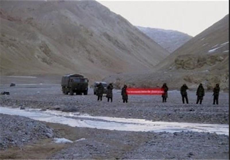 درگیری نظامیان چین و هند در منطقه مرزی