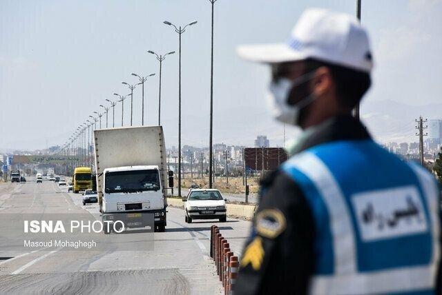 اعمال محدودیت ترافیکی در محورهای گیلان