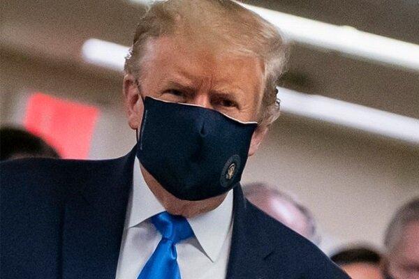 ترامپ: ماسک را در آمریکا اجباری نمی کنم