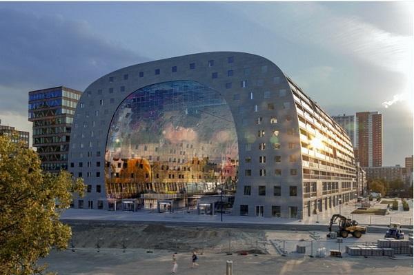 نمای داخلی و خارجی پاساژ ، آپارتمان مدرن و لوکس در هلند