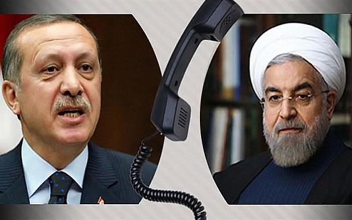 روحانی و اردوغان بر حل مناقشه قره باغ به وسیله گفت وگو تاکید کردند