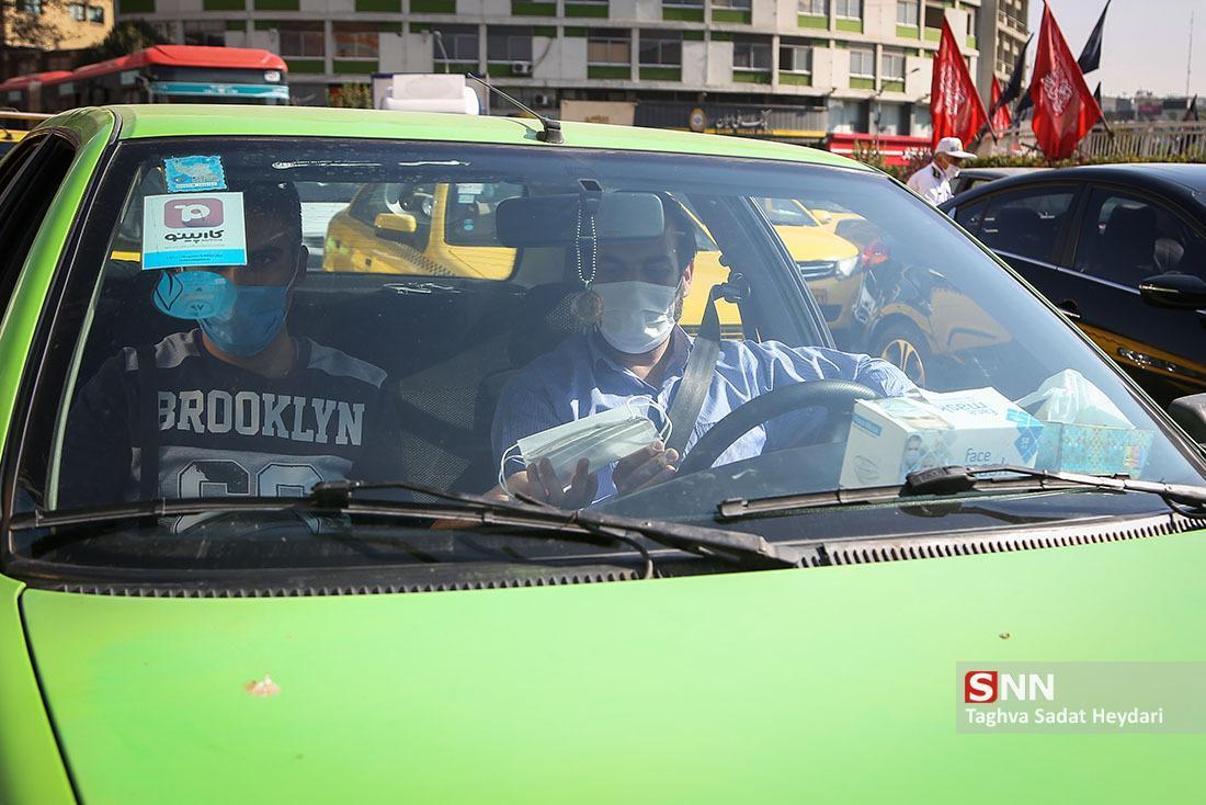 فرهنگ ماسک زدگی، آزمون سخت رانندگان تهرانی