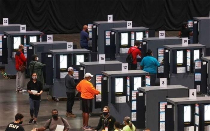 بیش از 70 میلیون نفر در انتخابات ریاست جمهوری آمریکا رأی داده اند