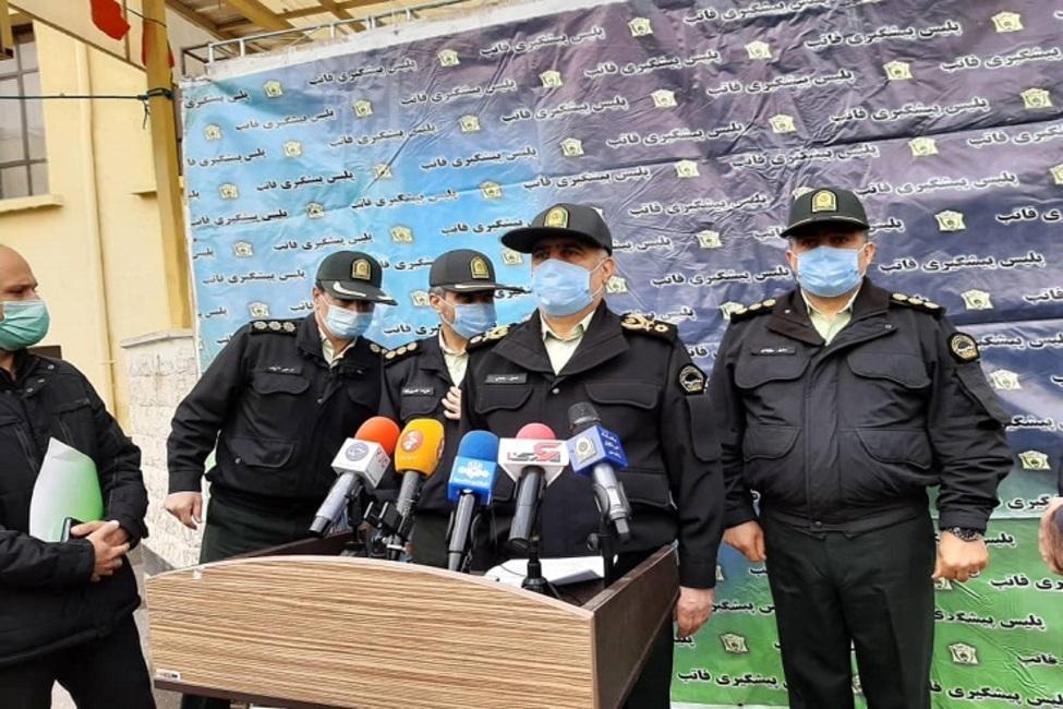 دستگیری 713 سارق و زورگیر در پایتخت