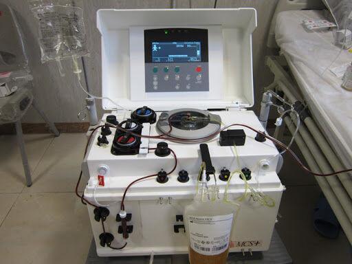 خبرنگاران یک دستگاه پلاسما فرزیس به تجهیزات انتقال خون قزوین افزوده شد