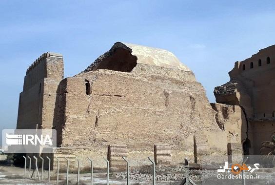 تخریب طاق کسری در بغداد