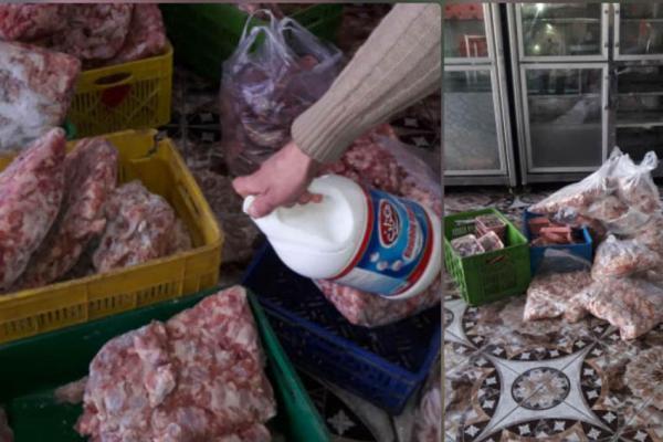 کشف و امحاء 221 کیلوگرم انواع گوشت مرغ و ماهی غیربهداشتی در ورامین