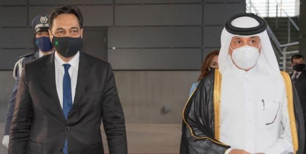ملاقات نخست وزیر دولت پیشبرد امور لبنان با مقامات قطر