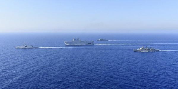 ادعای آنکارا در مورد بیرون راندن کشتی های فرانسه و یونان از فلات قاره ترکیه