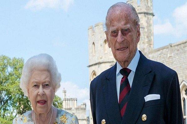 مرگ همسر ملکه انگلیس