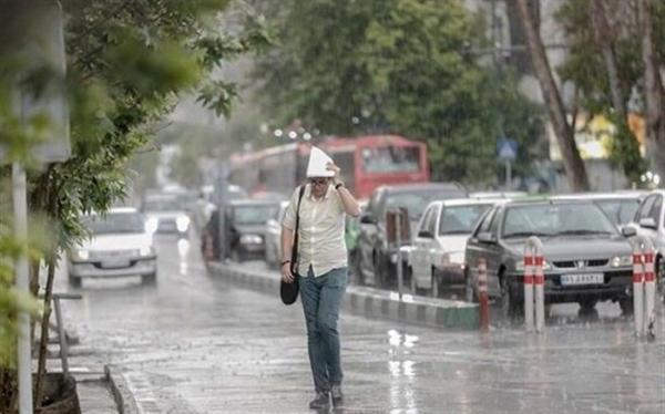 هواشناسی هشدار داد؛ وقوع رگبار و رعد و برق در 6 استان