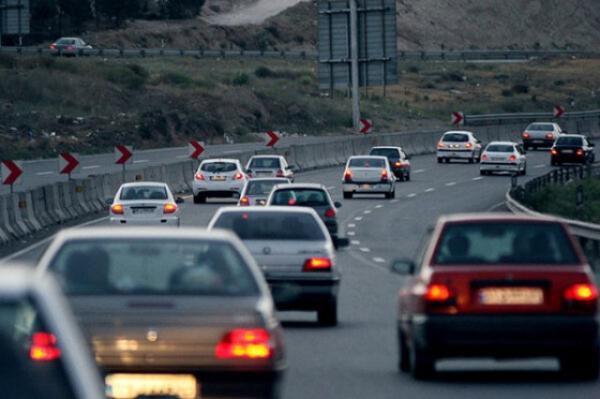 افزایش 2، 8 درصدی تردد در محور های برون شهری در شبانه روز گذشته