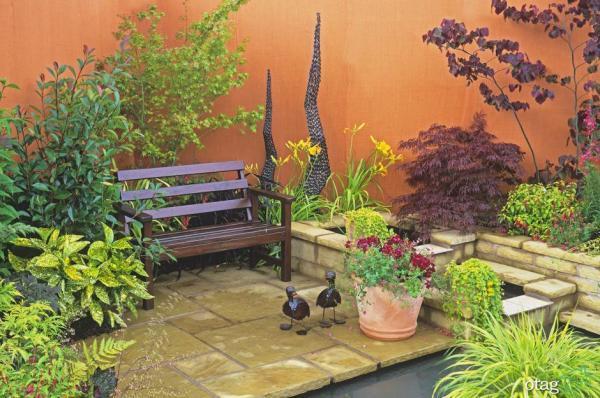 ایده هایی ناب و جالب برای طراحی باغچه شیک و زیبا