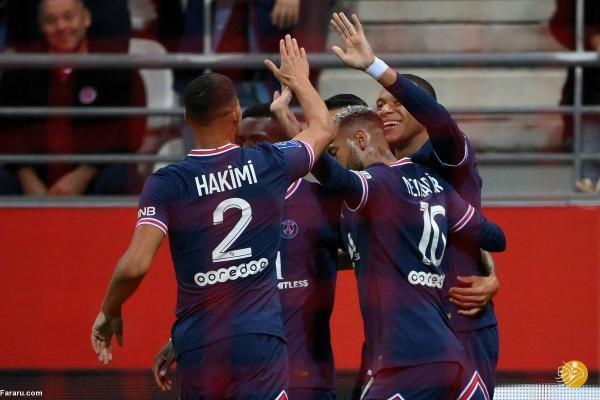 خلاصه بازی رنس 0 ، 2 پاری سن ژرمن؛ پیروزی با مسی