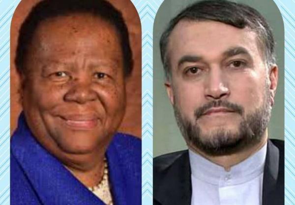 پیغام تبریک وزیر خارجه آفریقای جنوبی به امیرعبداللهیان